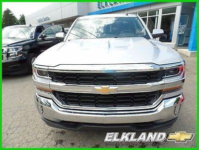 2017 Chevrolet Silverado 1500 NEW DBL CAB 4x4 LT pkg MSRP $44330 $10000 OFF or $359 Lease!! 4x4 DBL Cab LT pkg 5.3 V8 Silver Apple Carplay