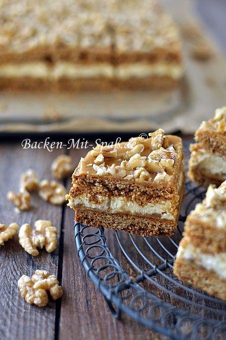 Honigkuchen mit Puddingcreme und Dulce de leche #Bahlsen #LifeIsSweet