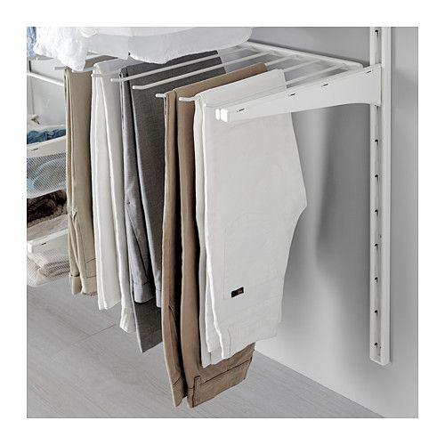 ALGOT Porte-pantalons  - IKEA  Aménagement dressing partie séchage