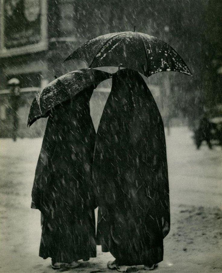 """A. Aubrey Bodine  """"Two Nuns"""". Original vintage photogravure. c1934"""
