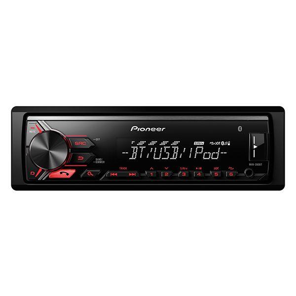Pioneer MVH-390BT Mechanika Nélküli Bluetooth Autóhifi Fejegység #mobilzene, #pioneer, #fejegység, #bluetooth, #mechanikanélküli