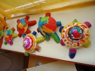 Het dierenwinkeltje - Schildpad knutselen