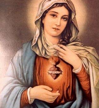 """consagrada-para-amar-blog: """" Agosto é o mês do Imaculado Coração de Maria. """""""