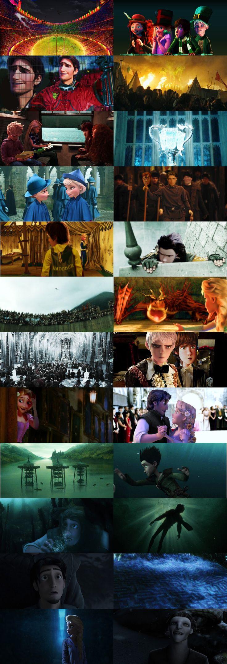 ROBTFD Triwizard Tournament AU