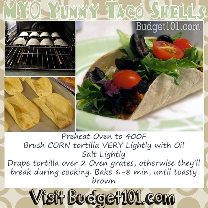 Learn how to make your own Simple Taco Shells (from scratch) with this dirt cheap recipe