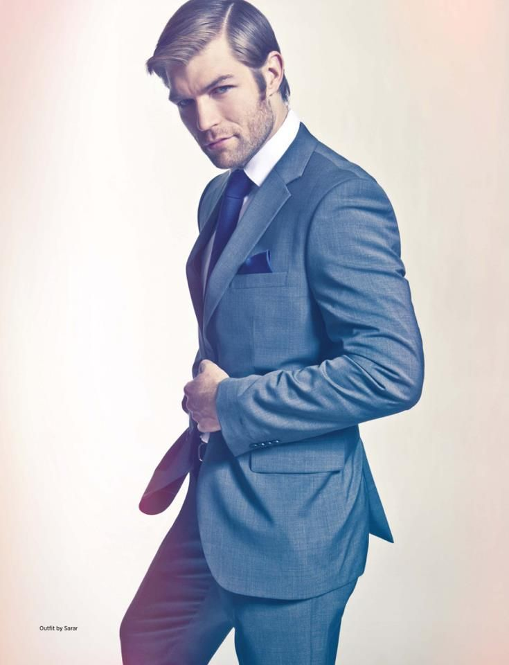 Model: Liam McIntyre | Photographer: Mitchell Nguyen McCormack | Magazine: DAMAN