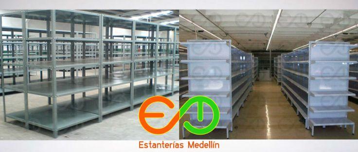 Entrepaños metalicos de 30 x 90