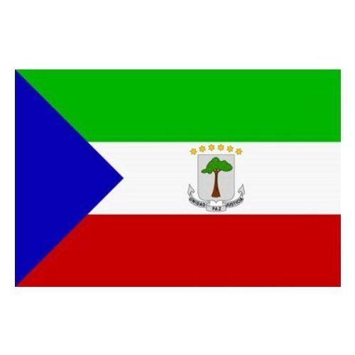 Equatorial Guinea Large Flag 90 x 150cm #mike1242 #flagsoftheworld #equatorialguinea