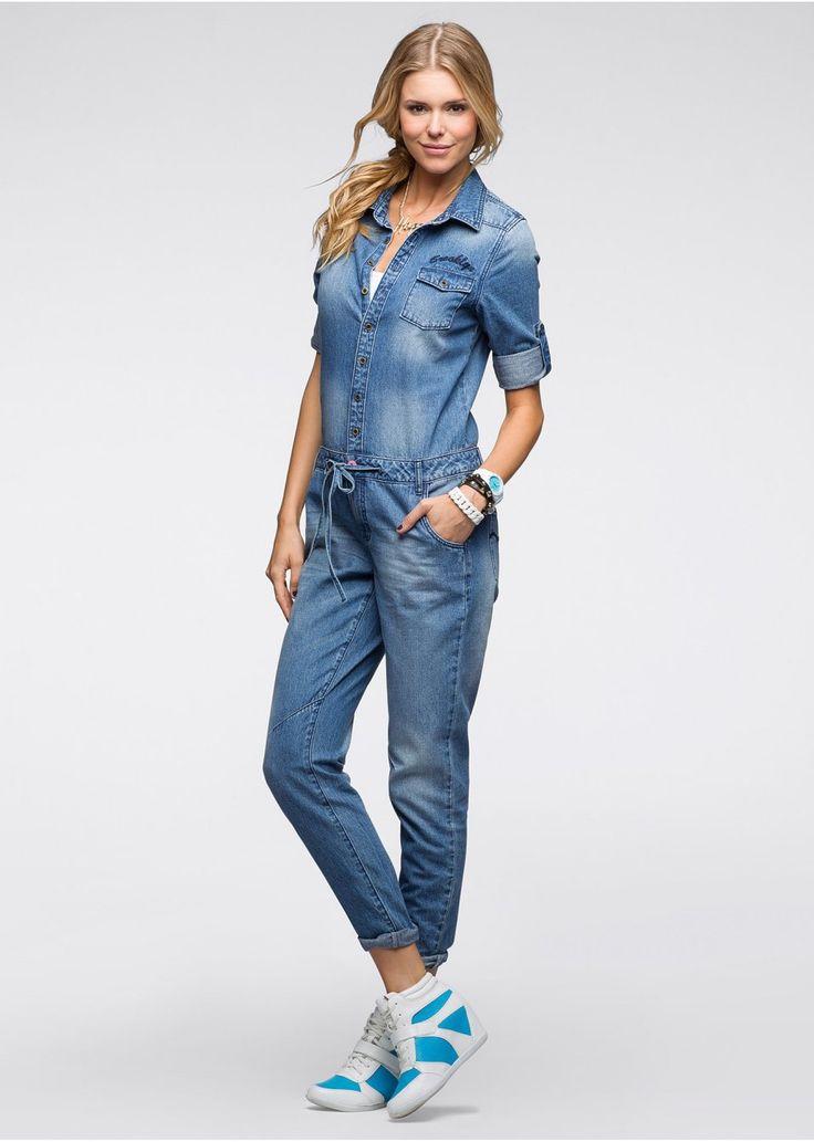 Классная джинсовая модель марки RAINBOW «потертого» дизайна. В бедрах кулиска и лента для завязывания для приталенной посадки. Длина по внутреннему шву – ок. 79,5 см (разм. 38). 100% хлопок