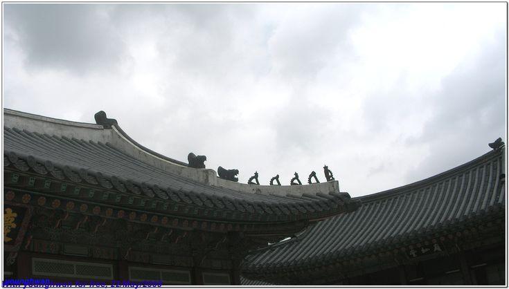 나의 문화유산 답사기 :: 경복궁 추녀마루 끝의 잡상들 (손오공과 삼장법사 행렬)
