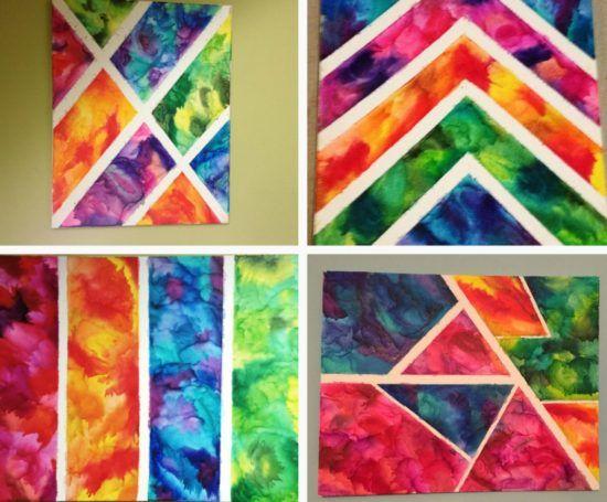 Best 25 Tape Painting Ideas On Pinterest Painters Tape