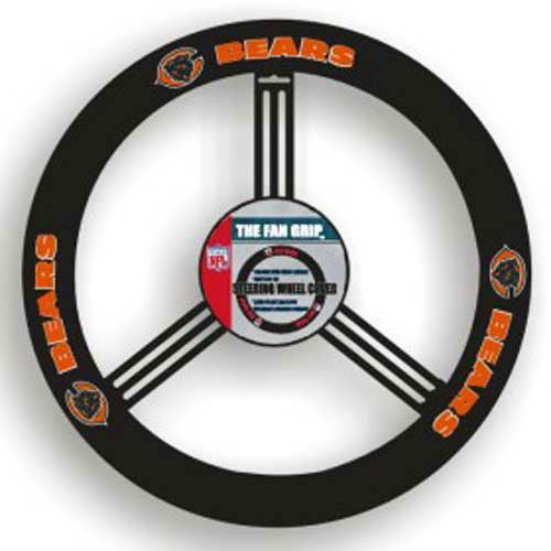 Chicago Bears NFL Leather Steering Wheel Cover