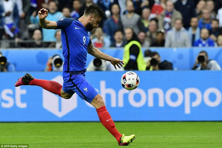 France 5-2 Iceland: Olivier Giroud scores twice as Euro 2016 hosts cruise to victory to set up mouthwatering semi-final with Germany