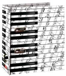 Kroužkový pořadač A4/7 cm - Piano č. 21625 LAF7
