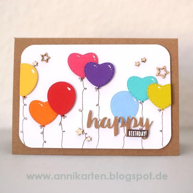 Annikarten: Geburtstagskarten