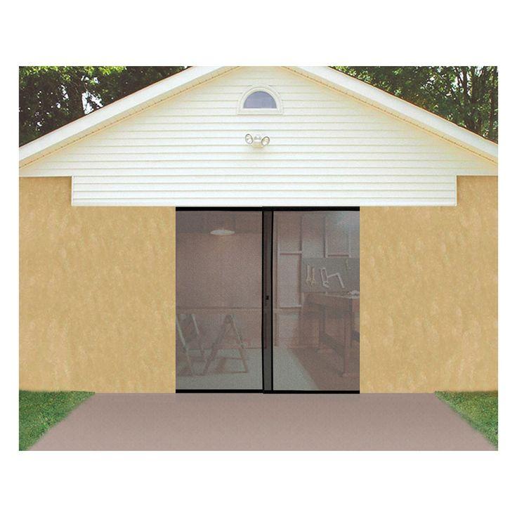 trademark global single garage screen door