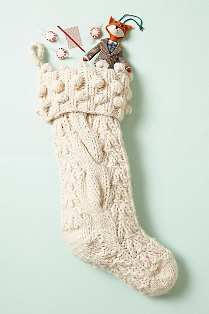 Sweater Stocking - love these!