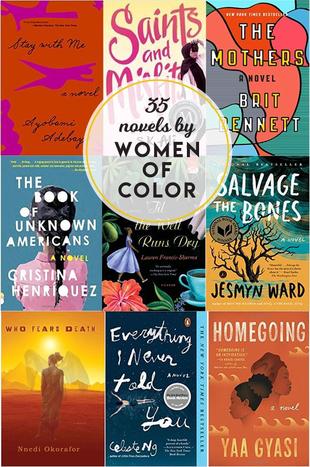 35 Novels By Women Of Color Books Rule Books Novels Books To Read