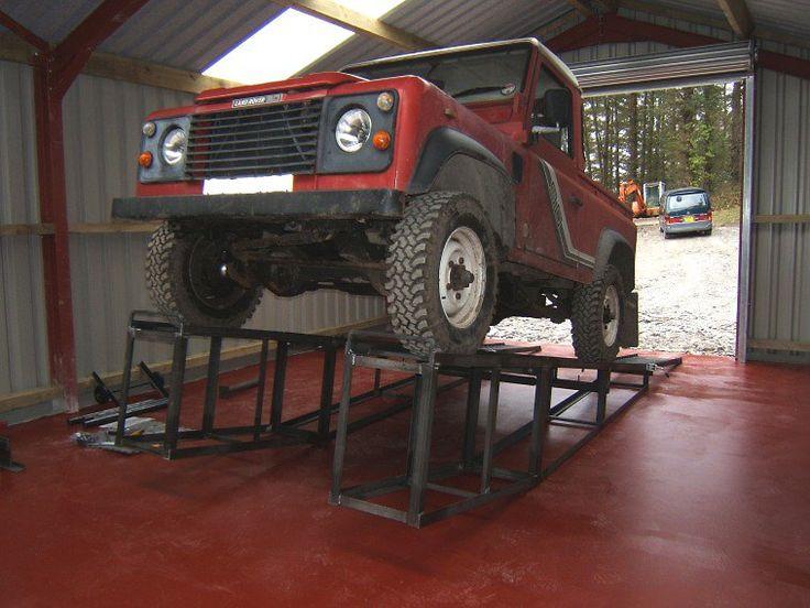 Compressed Air Car >> Car Ramp Build Plans #03 | Diy car ramps, Car ramps ...