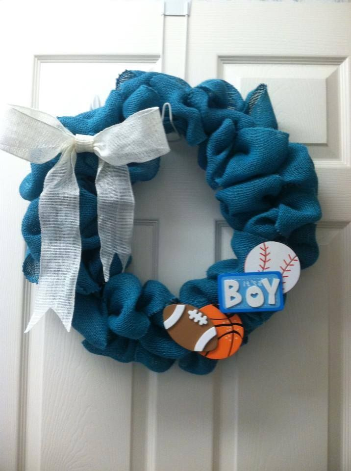 Welcome Home Decoration Ideas Part - 50: ... Welcome Home Baby Boy This Burlap Wreath Was Created By For Welcome  Baby Home Decorations ...