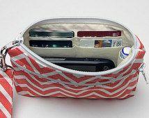 Grande - Carteira da correia, Clutch Cell Phone com alça removível
