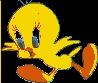 Felicitaciones de Piolin - Tweety. Postales de Dibujos Animados. Postales de Piolín. Envía felicitaciones con Piolín gratis desde internet.
