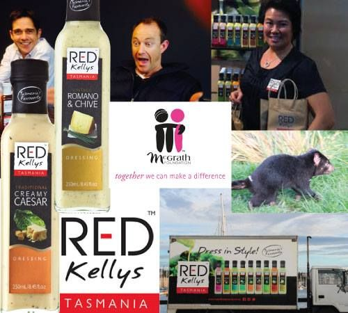 It has been a BIG year for Red Kellys Tasmania - new branding/packaging; new owners; the introduction of new (gluten free!) dressing varieties; a new (named) truck (!!); support of the Devils in Danger Foundation and the McGarth Foundation...the list goes on! Thanks so much for your continued support - We could not successfully be the only Australian owned and made salad dressing company stocked in the major supermarkets and select retail outlets without your support.