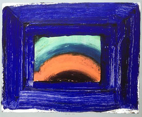 Howard Hodgkin: Vidrio veneciano (1989) para la venta en ModernPrints.co.uk
