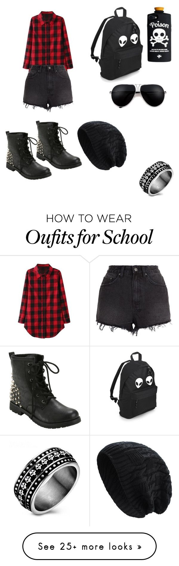 """""""Untitled #68"""" by imnutsbbimmad on Polyvore featuring Ksubi and Hot Topic"""