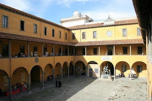 """Cortile dello Studio di Pisa-------da""""Galileo Galilei""""diⓛⓤⓐⓝⓐ"""