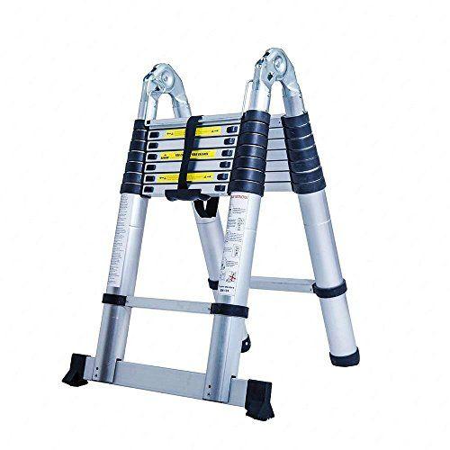 Senrob Aluminum Telescopic Extension Ladder,Extendable Folding Multi-Purpose Ladder Max 330 lbs. Capacity (16.5 FT) #Senrob #Aluminum #Telescopic #Extension #Ladder,Extendable #Folding #Multi #Purpose #Ladder #lbs. #Capacity