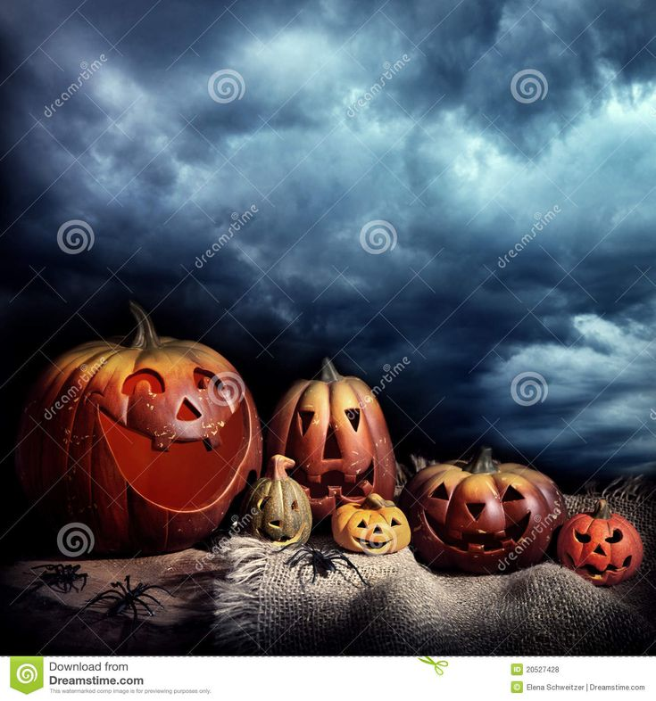Download Halloween Pumpkins Night Stock Photo via CartoonDealer. Halloween Orange Pumpkins Night. Zoom into our collection of high-resolution cartoons, stock photos and vector illustrations. Image:20527428