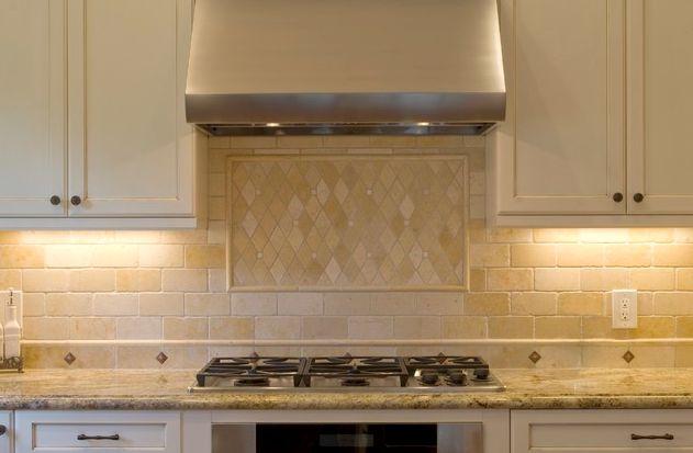 how to clean natural stone tile backsplash