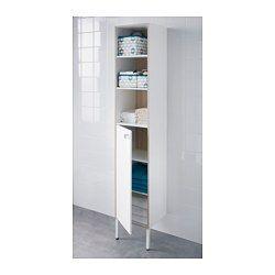"""TYNGEN High cabinet, white, ash effect - 11 3/4x11 3/8x69 5/8 """" - IKEA"""