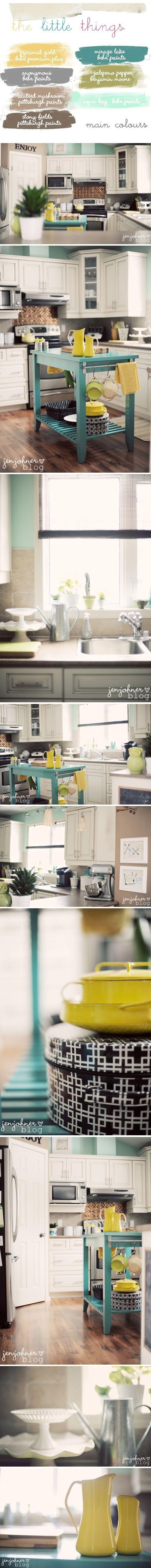 Bunte küchendekor helle küchen beweglichen kücheninsel kücheninseln küche farben esszimmer farben farbschemas küche colorful kitchens