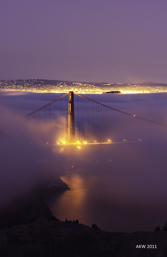Golden Gate Bridge, San Francisco, by Albert Wong, on 500px.