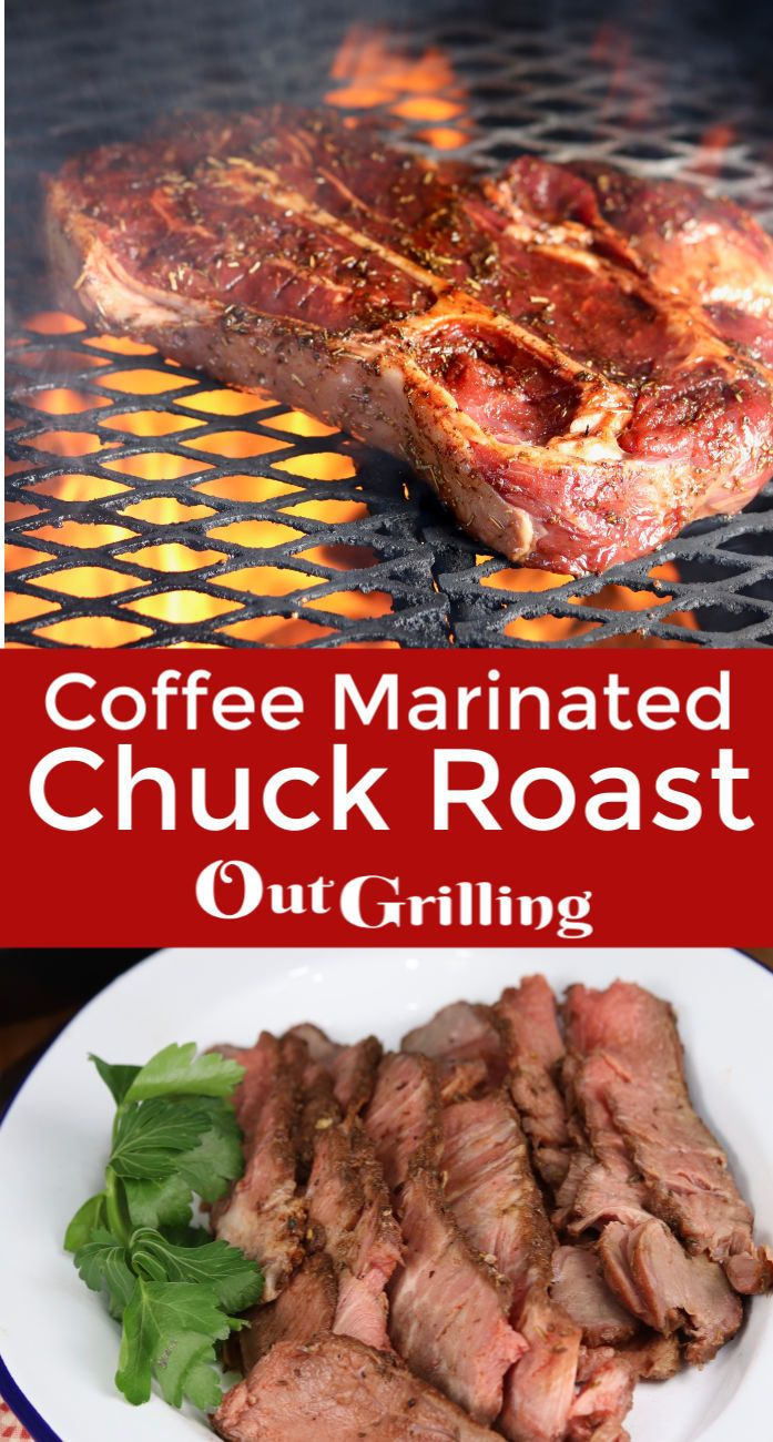 Jul 7, 2020 – Coffee Marinated Chuck Roast is a well seasoned and tasty dinner to try on the grill. Once we discovered h…