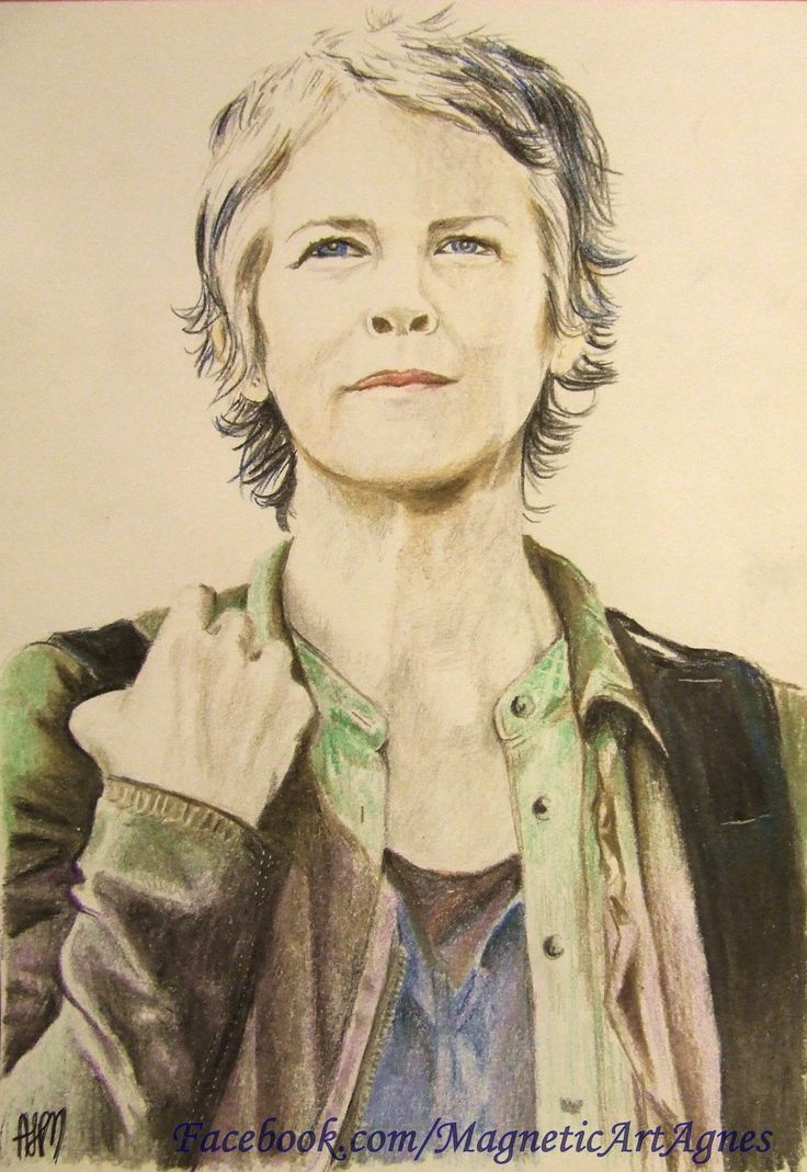 Carol- TWD colourpencils