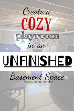 basement ideas for kids area. Unfinished Basement Ideas  Cozy Playroom for Kids Best 25 basement playroom ideas on Pinterest