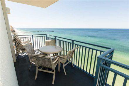Panama City Beach 2 br Ocean Front Vacation Rental Condo: Sterling Breeze 1701 Panama City Beach