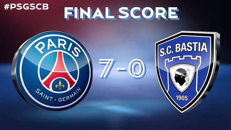 ⌛ Final score ⌛ PSG - Paris Saint-Germain 7⃣ - 0⃣ Sporting Club de Bastia ⚽ Thiago Silva 3⃣1⃣'⚽ Adrien Rabiot 4⃣2⃣' ⚽ Christopher Nkunku 4⃣8⃣' ⚽ Thiago Motta 5⃣7⃣' ⚽ Lucas Moura 6⃣3⃣ ⚽ Angel Di Maria 7⃣7⃣' ⚽ Julian Draxler 8⃣9⃣'