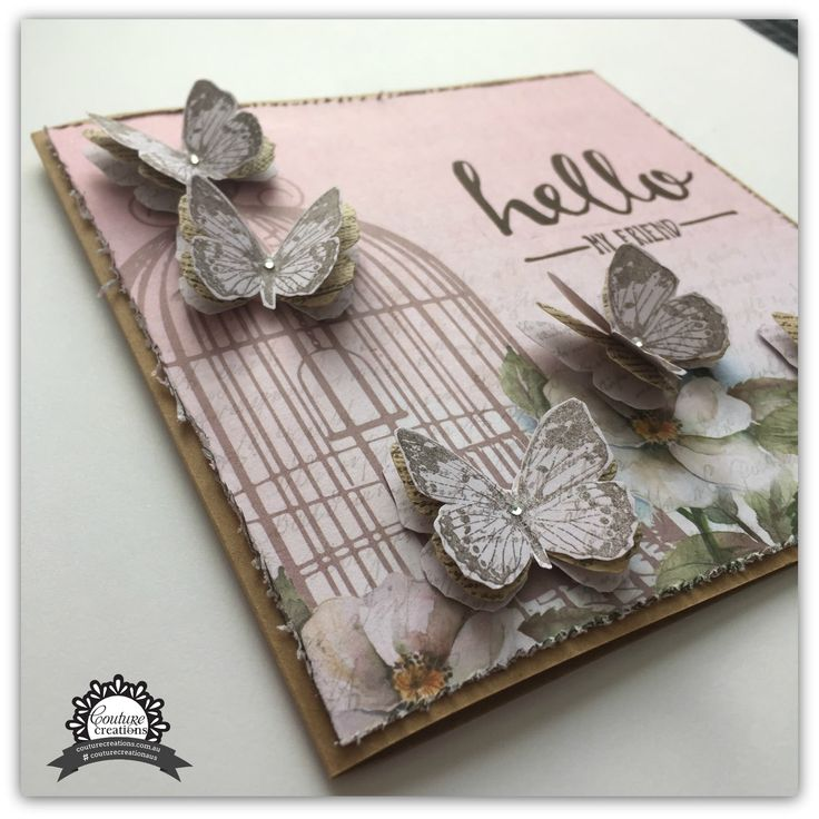 Down Sunflower Lane: Hello My Friend - Couture Creations