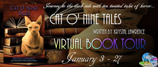 Laura's  Interests: Cat O' Nine Tales Blog Tour