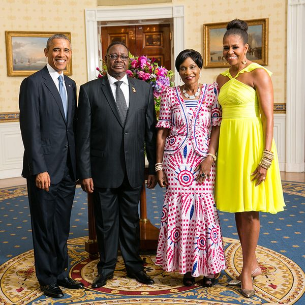 President and First Lady Obama with Malawi President Arthur Peter Mutharika and Gertrude Mutharika at the US-Africa Leaders Summit #USAfricaLeadersSummit #POTUS #FLOTUS #Malawi #TradeNotAid