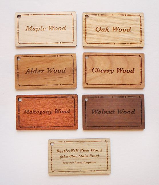 44 best wood business cards images on pinterest wood business wood species options for 332 real wood business cards colourmoves