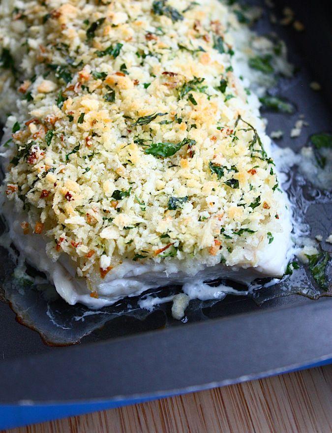 Kabeljauw met een korstje - Francesca Kookt - lekker met boekweitnoedels met champigons & broccoli