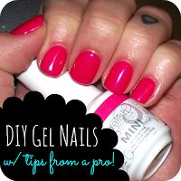 Best Post I've seen on the net for DIY Gel Nails. Lulu and Sweet Pea: DIY Gel Nails at home