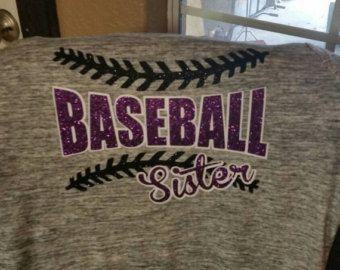 Womens baseball sister raglan shirt