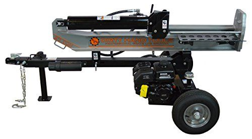 Dirty Hand Tools 100408, 27 Ton Horizontal/Vertical Gas Log Splitter with 196cc Kohler SH265 Engine  27 ton gas log splitter with 6.5HP Kohler EngineVertical/horizontal log splitter14 second cycle time down and back  http://industrialsupply.mobi/shop/dirty-hand-tools-100408-27-ton-horizontalvertical-gas-log-splitter-with-196cc-kohler-sh265-engine/