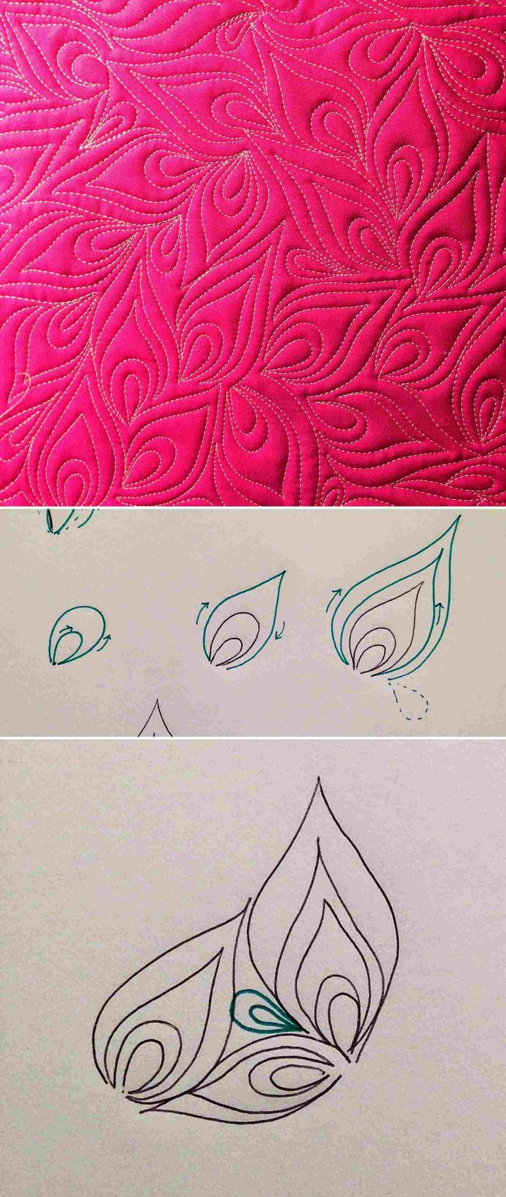 1000+ images about Quilting ideas on Pinterest Circles, Machine quilting and Quilt modern